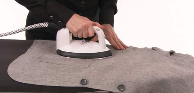 Как правильно гладить пиджак
