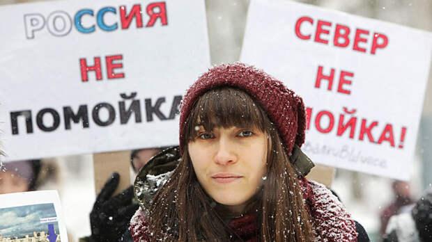 Новая волна мусорных протестов выплеснулась на улицы российских городов