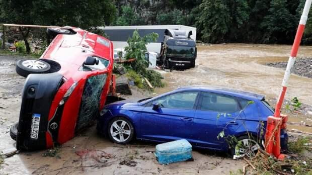 Германия затоплена: десятки человек погибли и пропали без вести