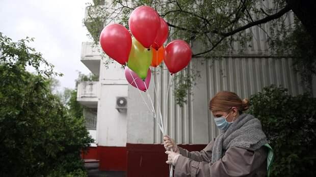 Экологический оператор призвал выпускников отказаться от воздушных шаров
