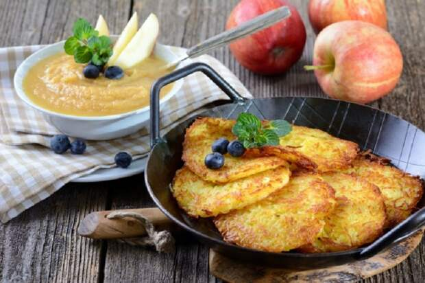 как приготовить драники из картофеля рецепт