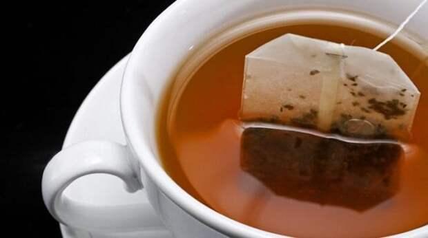 Пакетик чая