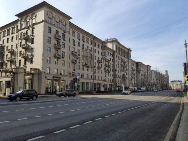 Тверскую улицу в Москве частично перекроют в предстоящие выходные