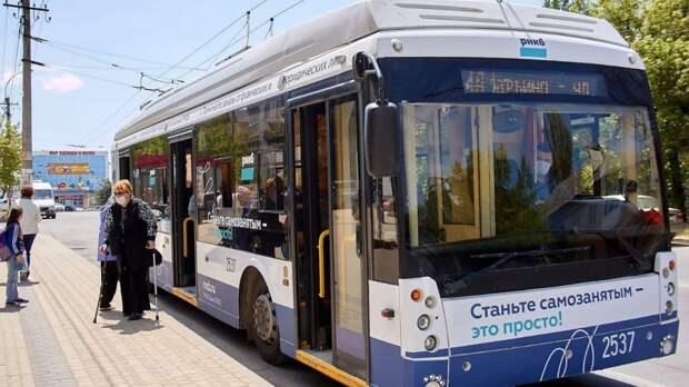 Троллейбус №4-А начал курсировать по новому маршруту «Марьино – Арабатская» в Симферополе