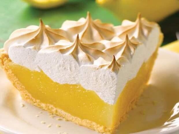 Секреты приготовления лимонного пирога