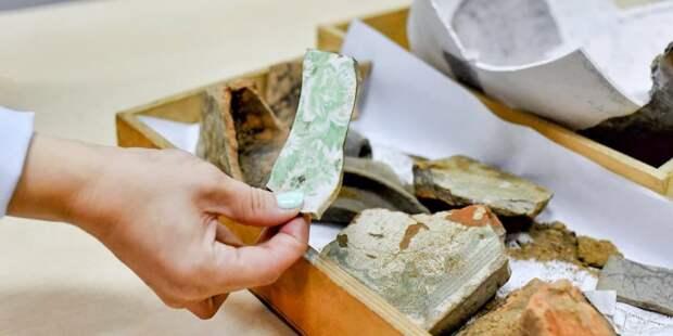 За 10 лет археологи Москвы обнаружили почти 60 тыс ценных артефактов – Собянин