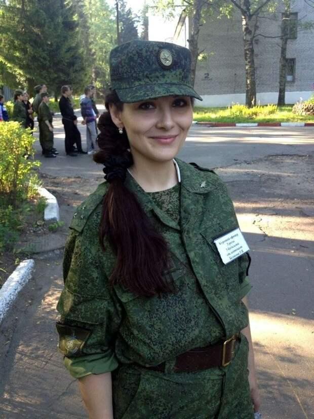 Прекрасные девушки Российской армии!