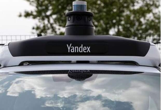 A view shows a fragment of a Hyundai Sonata automobile during an event, organized by Yandex company to present the new generation of its self-driving car developed in cooperation with Hyundai, in Moscow, Russia May 27, 2020. Picture taken May 27, 2020. REUTERS/Shamil Zhumatov
