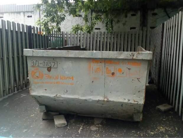 Вывоз мусора на Скаковой улице проводится регулярно – управа