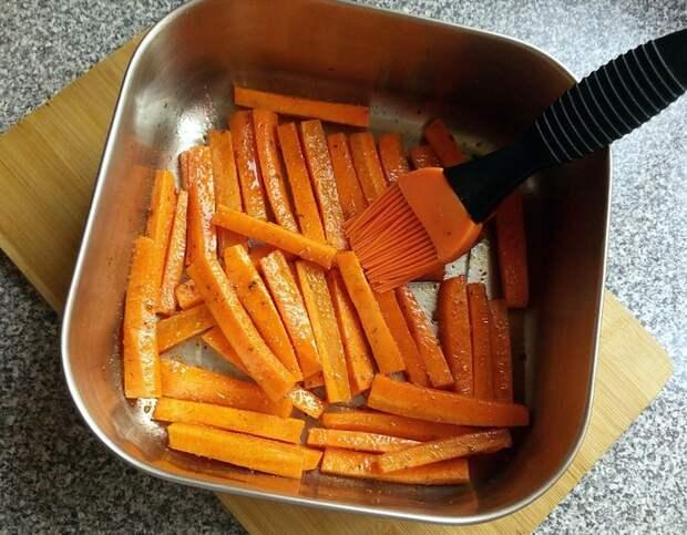 Морковные палочки Кулинария, Закуска, Длиннопост