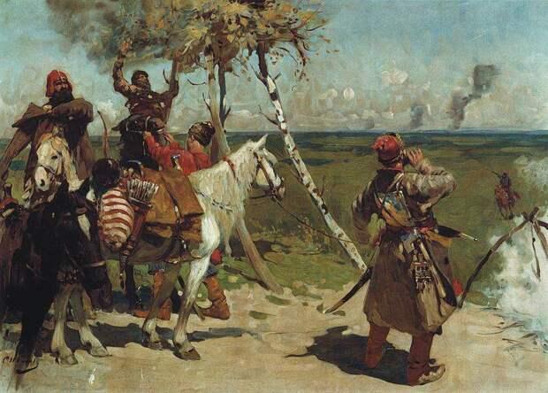 Война Москвы и казанского хана Сафа-Гирея