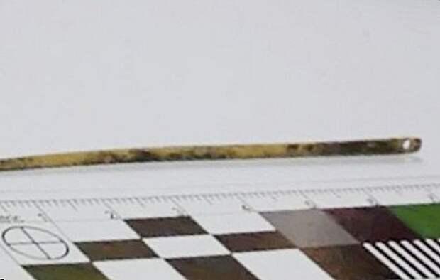 старая швейная игла