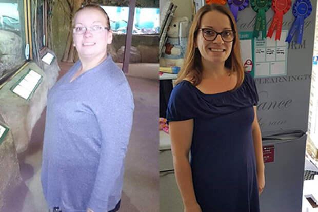 Женщина похудела на32килограмма после унизительной прогулки ссыном