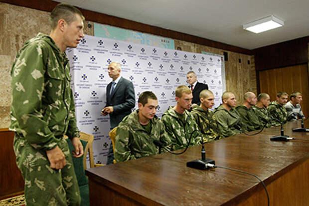 Задержанные на Украине десантники вернулись в Россию