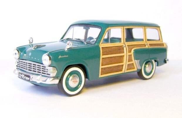 Москвич-424Э Woody авто, автодизайн, газ, запорожец, моделизм, модель, москвич, советские автомобили