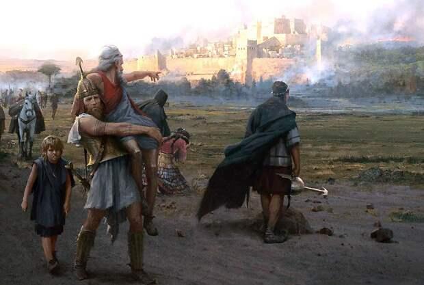 Троянская война в иллюстрациях Jose Daniel Cabrera Peña