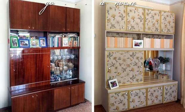 Не торопитесь выбрасывать старую советскую мебель! Вот как круто можно ее переделать было стало, красиво, новая жизнь старых вещей, реставраторы, советская мебель