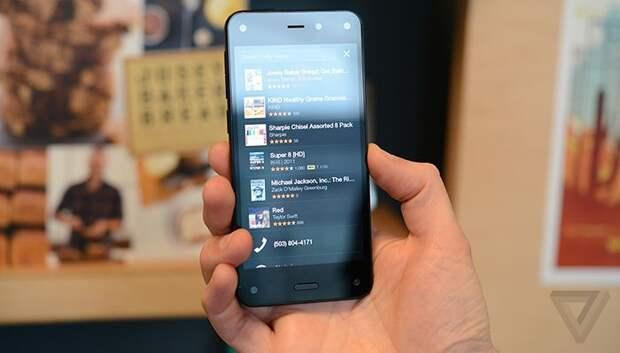 Знакомство с Amazon Fire Phone вживую: есть ли практический смысл в шести камерах?