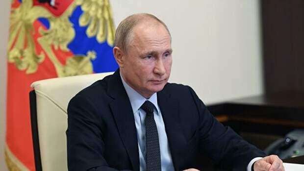 Путин пожелал губернатору Ленинградской области успехов на выборах