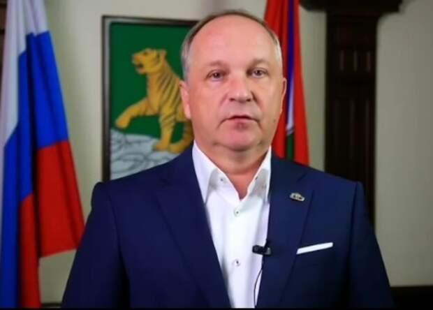 Мэр Владивостока согласился с предложением Трутнева и подал в отставку