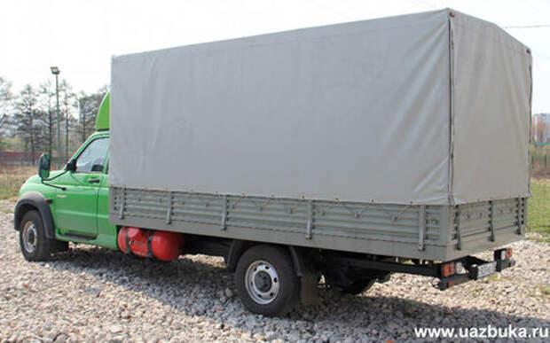 УАЗ готовит новую версию грузовика Профи