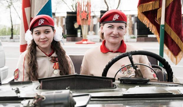 ВОренбурге прошел автопробег вчесть Дня Победы