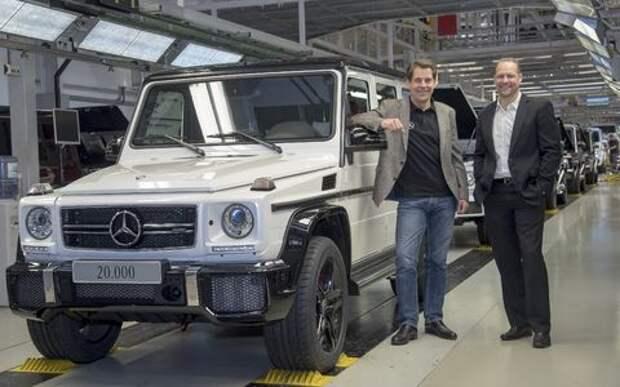 «Гелики» идут нарасхват: завод в Граце установил рекорд производства