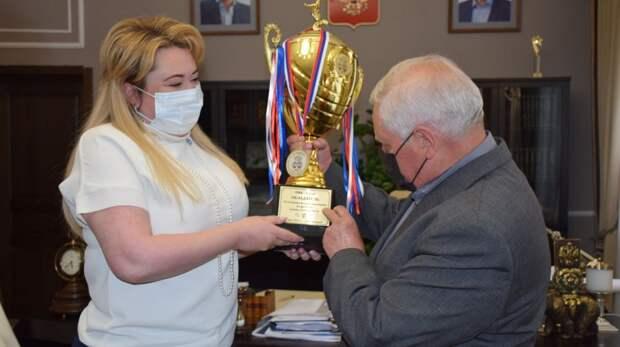 ПФК «Ялта» стал победителем Открытого Кубка по футболу