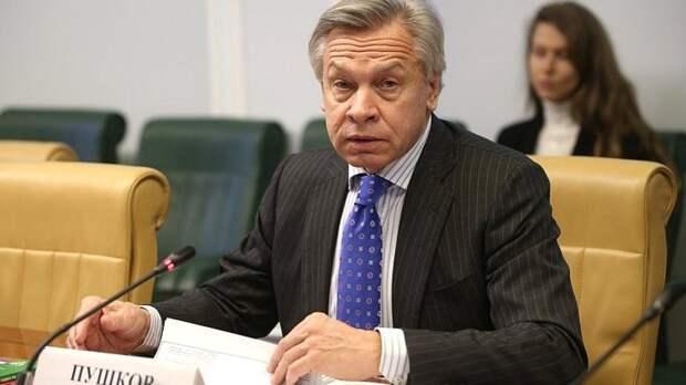 В Совете Федерации РФ оценили заявление Зеленского об Украине как центре Европы