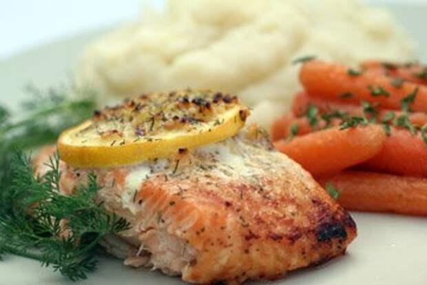 Салат с рыбой — Рецепты Джейми Оливера