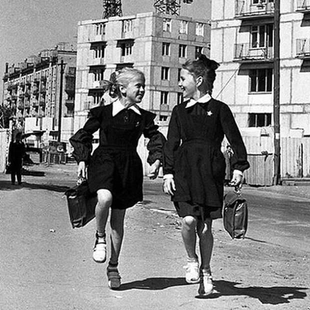 О школьниках 50-х...