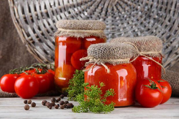 Что сделать из подпорченных помидор
