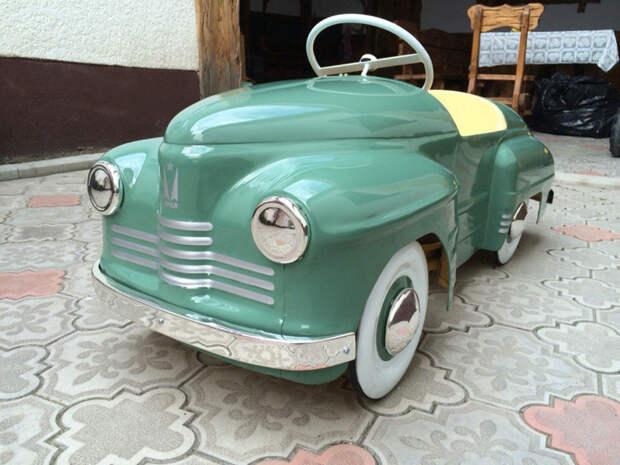 Мечты детства. Работы по восстановлению игрушки, педальные машинки, реставрация