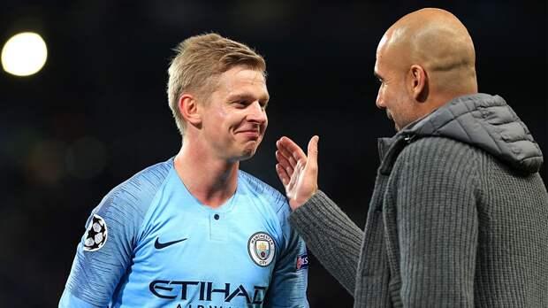 Гвардиола отреагировал на слова Зинченко о возможности победы «Манчестер Сити» во всех четырех турнирах сезона