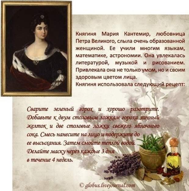 Старинные рецепты красоты