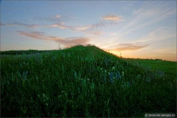 Сила духа древнерусского города в урочище Каменная Гора