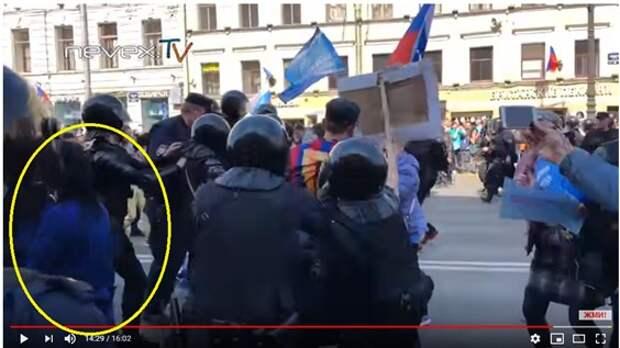 Первомайские провокаторы спалили руку Госдепа, торчащую из пятой точки