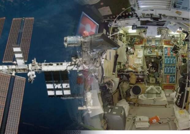 В российском модуле МКС ищут утечку бензола