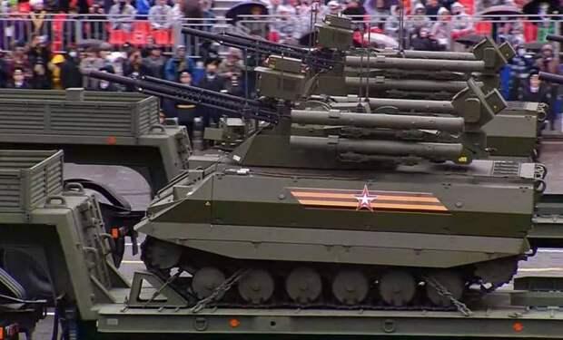 Новейшие образцы военной техники показали на Параде Победы в Москве