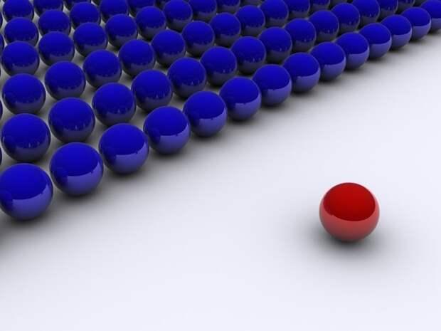 5 фактов о том, как красный и синий цвета контролируют вашу жизнь