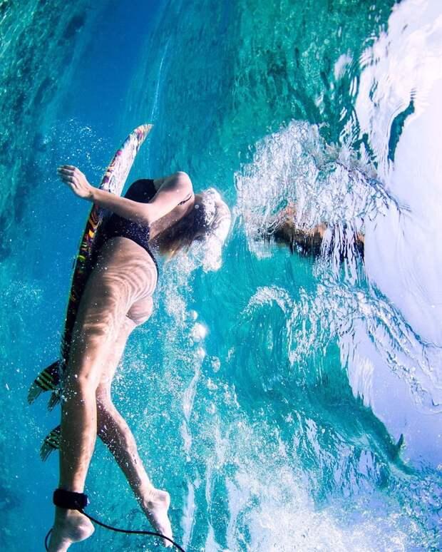 Сестры-серфингистки из австралии