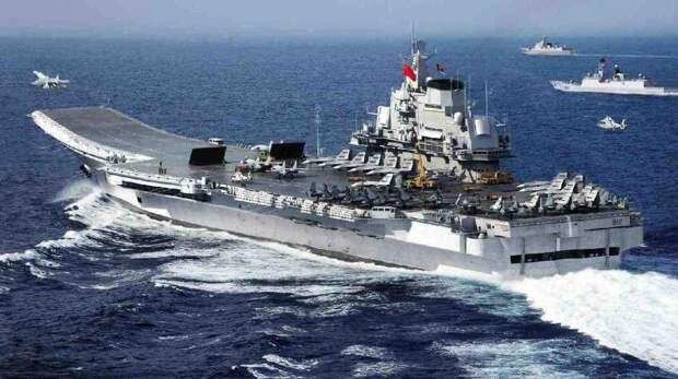 Китайцы завершили испытания авианосца