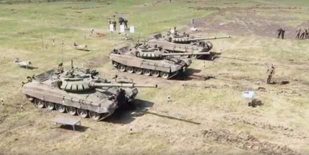 На Южном Урале проходит «Танковый биатлон»