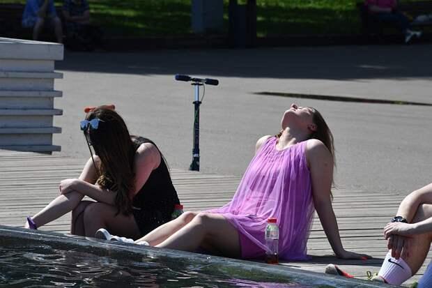 В Москве 23 июня 2021 ожидается рекордная жара до +36