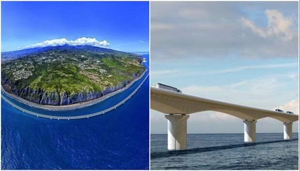 Почему французы строят шоссе не на острове, а вдоль него