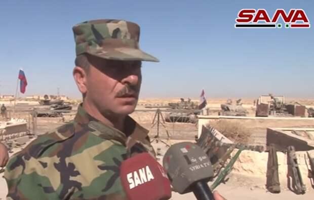 В Сирии показали на видео захваченное у террористов оружие стран НАТО