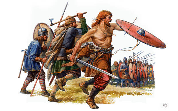 Викинги на Руси и в Англии сравнительная характеристика торгово-экономической экспансии