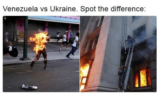 Забавные сходства Украина и Венесуэла Украина, Венесуэла, сходство, длиннопост