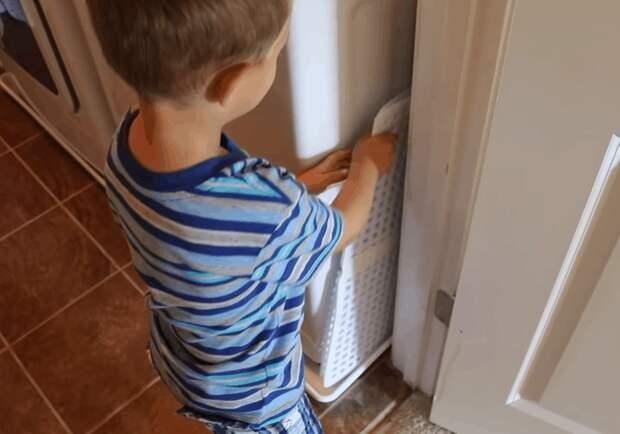 Решетка для кухни в новом амплуа: нетривиальная идея находчивой домохозяйки