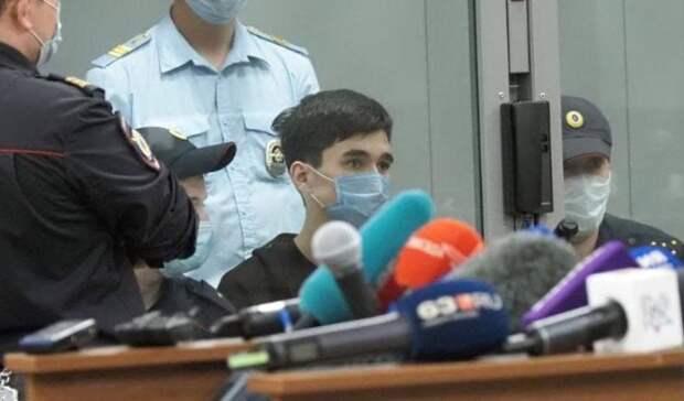 Напавший на казанскую гимназию бросался на решетки и сотрудников в московском СИЗО